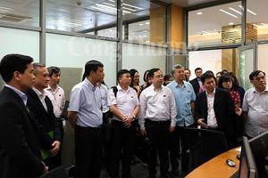 Đại biểu Quốc hội thăm HNX phục vụ sửa Luật Chứng khoán