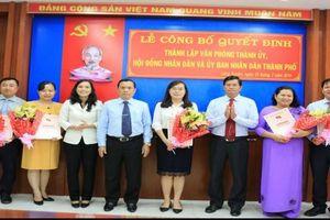 Thí điểm hợp nhất Văn phòng Thành ủy với Văn phòng HĐND và UBND TP. Long Xuyên