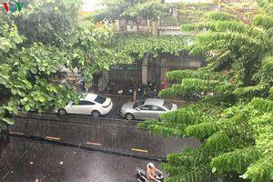 Đà Nẵng mưa lớn sau nhiều ngày nắng gay gắt