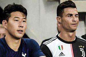 Khoảnh khắc Son Heung-min đổi áo với thần tượng Ronaldo