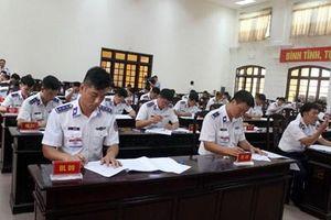 Bộ tư lệnh Cảnh sát biển tổ chức Hội thi cán bộ huấn luyện điều lệnh giỏi 2019