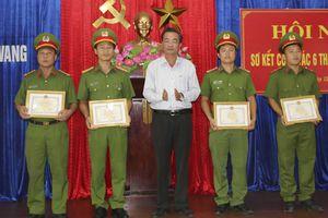 Công an chính quy đảm nhận các chức danh Công an xã ở H. Hòa Vang: Những 'dấu ấn' đầu tiên