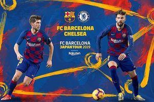 Lịch thi đấu bóng đá ICC ngày 23-7, Barca chiến Chelsea