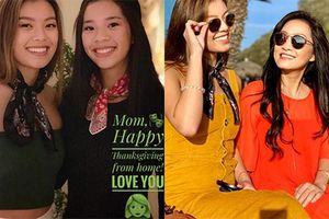 Hai con gái xinh như mộng của Quang Minh - Hồng Đào