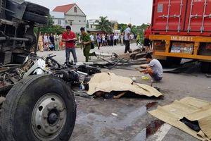 Danh tính 5 nạn nhân trong vụ tai nạn nghiêm trọng ở Hải Dương
