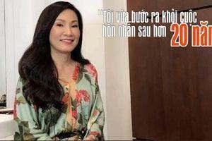 Hồng Đào: 'Tôi vừa bước ra khỏi cuộc hôn nhân sau hơn 20 năm'