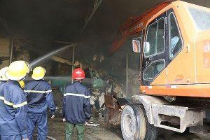 Thừa Thiên- Huế: Cháy lớn tại Công ty Cổ phần sợi Phú Nam