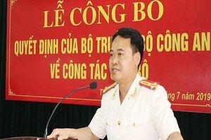Bộ Công an bổ nhiệm Trưởng Công an thành phố Thanh Hóa