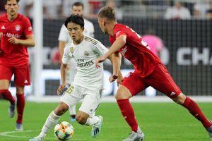Real Madrid phát sốt với màn ra mắt của 'Messi Nhật'