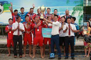 Khánh Hòa bảo vệ chức vô địch bóng đá bãi biển QG Cup Vietfootball 2019