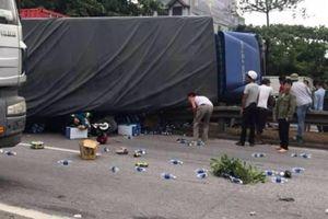 Clip xe tải đè chết Chủ tịch Hội Nông dân xã và 4 người đứng xem tai nạn ở Hải Dương