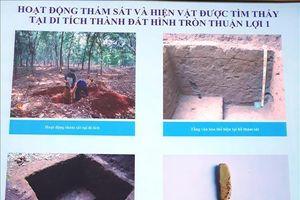 Phát huy giá trị di tích thành đất hình tròn Thuận Lợi 1