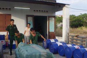 Đà Nẵng: Triệt xóa đường dây buôn bán dầu nhớt giả, thu giữ 2.000 lít