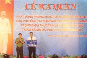 Công an tỉnh Đồng Nai phát động phong trào Toàn dân bảo vệ an ninh Tổ quốc