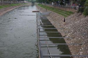 Các sở ban ngành đề nghị thí điểm làm sạch sông Tô Lịch vào dịp khác
