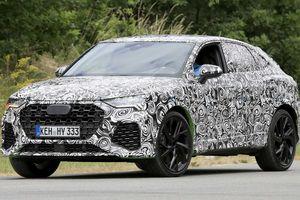 Audi Q3 Sportback 2020 lộ ảnh trên đường thử, mạnh tới 400 mã lực