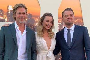 Brad Pitt, DiCaprio và 'quả bom sex' Margot Robbie hội ngộ ở thảm đỏ