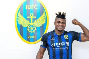 Incheon United chiêu mộ tiền đạo nặng gần 100 kg