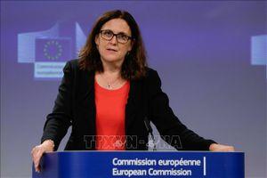 Cuộc chiến thuế quan giữa Mỹ và EU lại 'tăng nhiệt'