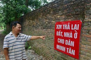 Người Minh Tân đi 'tìm đất'