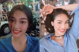 Fan 'dụi mắt' liên hồi vì cứ tưởng Lan Khuê đang thi Miss World Vietnam 2019, chị em thất lạc đây rồi
