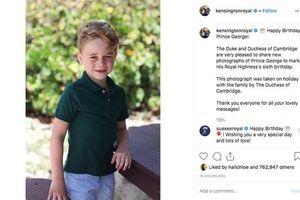 Megan bị dân mạng 'ném đá' thậm tệ chỉ vì gửi lời chúc mừng sinh nhật này tới Hoàng tử George