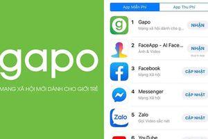 Sau 1 ngày ra mắt, MXH Gapo bất ngờ vượt mặt Facebook và YouTube trên App Store