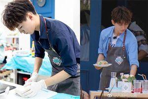 'Nhà hàng Trung hoa 3' chưa phát sóng, Vương Tuấn Khải được đầu bếp chuyên nghiệp khen ngợi về tài năng nấu ăn