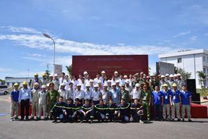 Công ty Nhôm Đắk Nông - TKV: Diễn tập ứng cứu sự cố cháy, rò tràn hóa chất