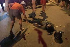 Nam thanh niên tử vong do tự đâm xe máy vào gốc cây
