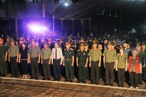 'Lũy đá bất tử' - Tri ân các anh hùng liệt sĩ tại Nghĩa trang quốc gia Vị Xuyên