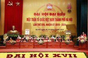 Đại hội MTTQ Việt Nam TP lần thứ 17: 'Dân chủ - Đoàn kết - Đổi mới - Hiệu quả'