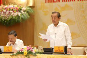 Phó Thủ tướng Thường trực chủ trì hội nghị sơ kết 2 ban chỉ đạo