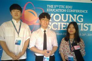 Kết nối các 'nhà khoa học trẻ'
