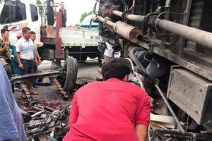 Khởi tố vụ án xe tải gây tai nạn làm 5 người chết ở Hải Dương