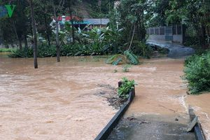 Nhiều nơi ở Yên Bái ngập sâu sau mưa to kéo dài