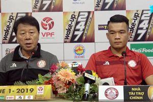 'Chung kết' V-League 2019: HLV Hàn Quốc đặt mục tiêu 'kết thúc vui vẻ' với Hà Nội FC