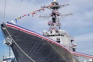 Khu trục hạm Arleigh Burke Mỹ hướng tới con số... 100