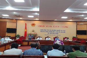Kiên Giang phải tái cơ cấu lại nền nông nghiệp theo chiều sâu