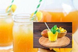 Bí kíp pha trà xoài tươi ngon - Món trà thanh nhiệt mang hương vị mùa hè