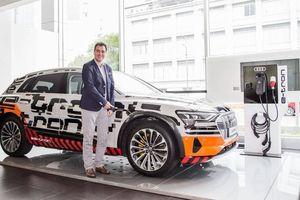 Audi mang chiếc SUV hoàn toàn chạy điện đầu tiên về Việt Nam