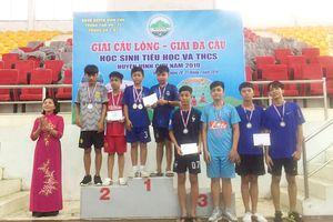 170 VĐV tham dự Giải đá cầu học sinh TH-THCS huyện Vĩnh Cửu năm 2019