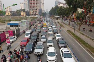 Hà Nội sẽ thu phí phương tiện vào nội đô vào năm 2030?