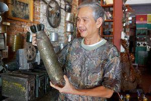 Cựu binh sưu tầm hơn 250 kỷ vật về chiến tranh