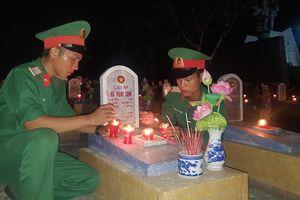 Tưởng nhớ, tri ân các anh hùng liệt sĩ