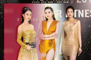 Đầm dạ hội ánh kim luôn là nữ hoàng thống trị thảm đỏ showbiz Việt