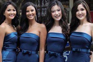 H'Hen Niê và dàn hoa hậu làm phù dâu trong lễ cưới mỹ nhân Thái Lan