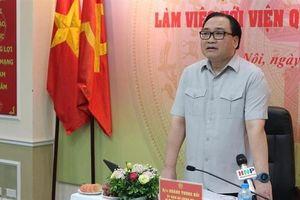 Bí thư Hà Nội: Cần công khai quy hoạch để...dân theo dõi