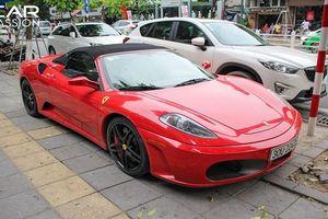 Siêu xe Ferrari F430 Spider tiền tỷ đỏ rực trên phố Hà Nội