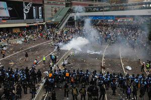 Biểu tình ở Hong Kong: Cảnh sát sử dụng hơi cay giải tán người biểu tình